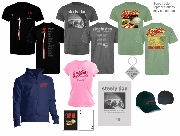 Steely Dan Merchandise 2007 Tour