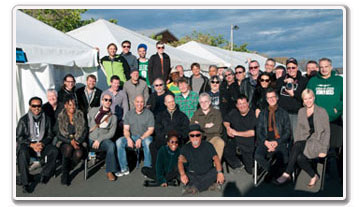 Steely Dan and Steve Winwood Band and crew, 2011