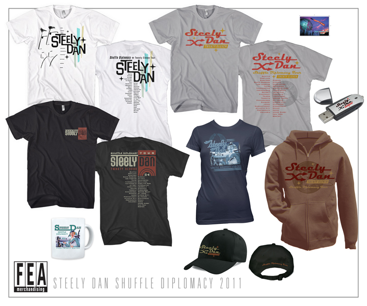 Tour 2011 Merch, T-shirts