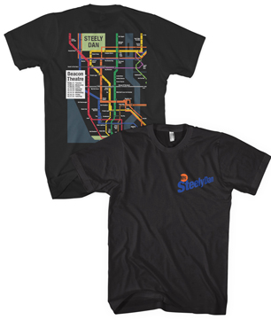 Steely Dan 2015 Beacon Tee Shirt